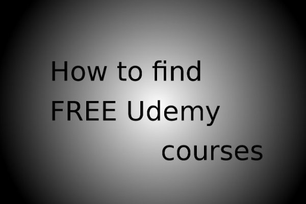 find free udemy courses