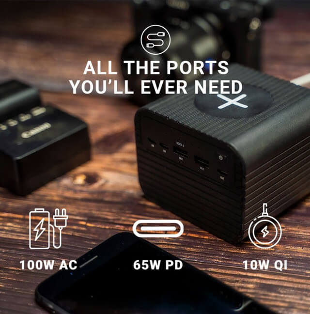 Powerful 100W Portable Mobile Power